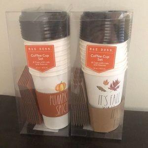 Rae Dunn It's Fall Y'all & Pumpkin Spice Cups